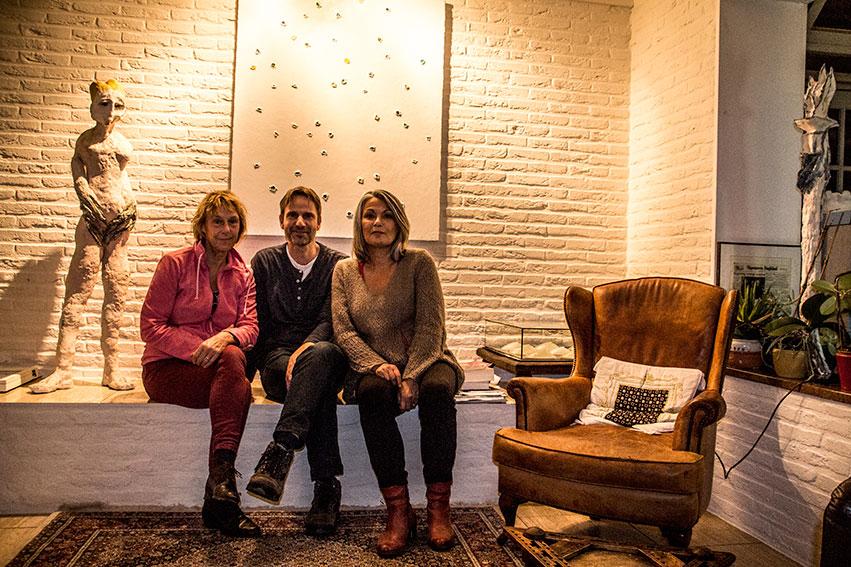Saskia Weddepohl, Jan van den Berg, Joyce Bloem