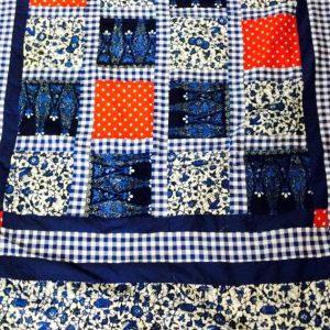 Picknickkleed Rood Wit Blauw