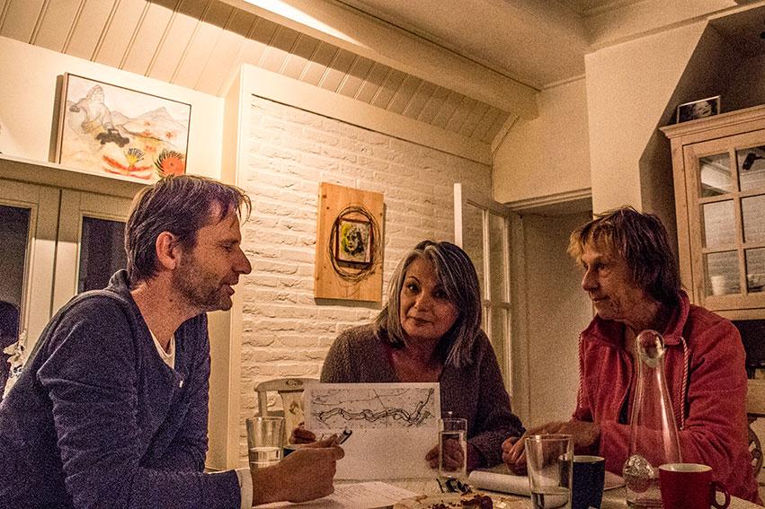 Jan Van Den Berg, Joyce Bloem En Saskia Weddepohl