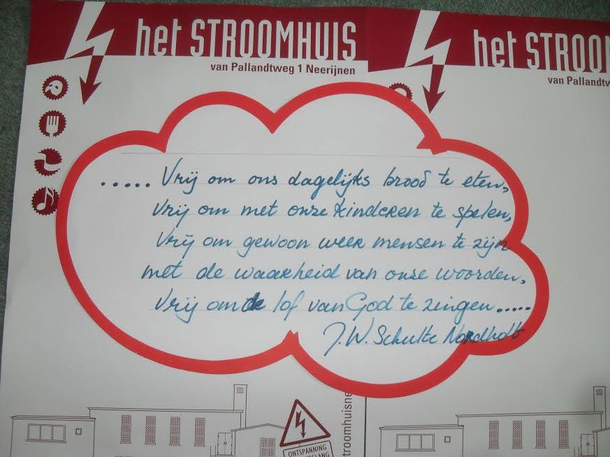 Stroomhuis Als Pitstop Op 5 Mei