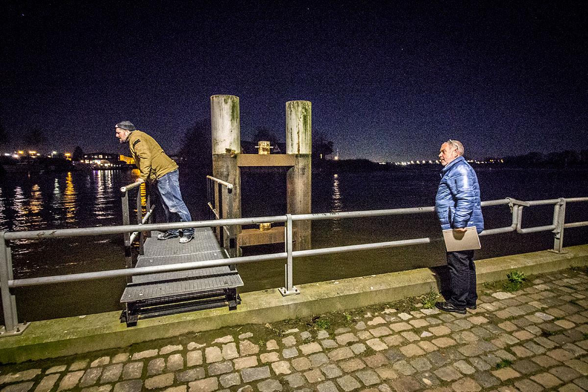 Nachtelijke Inspectie Haven Zaltbommel
