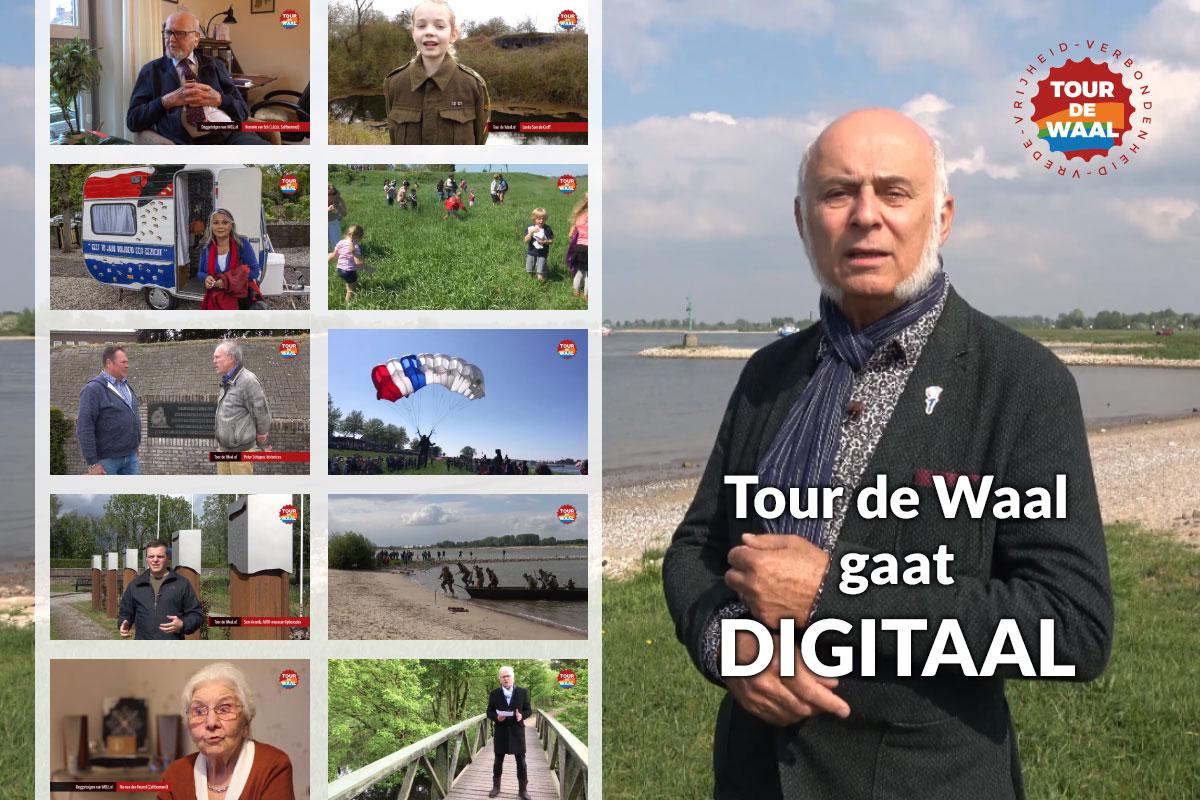 Tour De Waal Gaat Digitaal