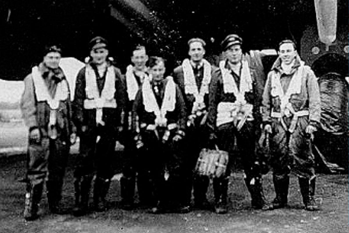 Eerbetoon Geallieerde Vliegers WW II